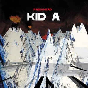Kid A (CD, Album, Club Edition) album cover