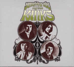 Something Else By The Kinks (CD, Mono) album cover