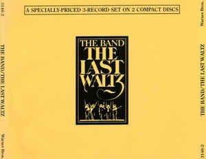The Last Waltz (CD, Album, Stereo) album cover