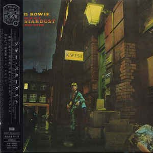 The Rise And Fall Of Ziggy Stardust And The Spiders From Mars (CD, Album, Reissue, Remastered) album cover
