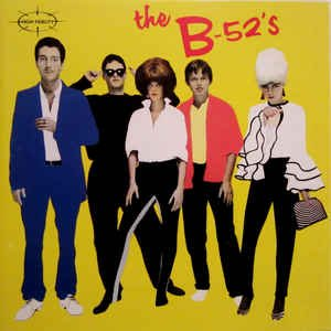 The B-52's (CD, Album, Club Edition, Reissue) album cover